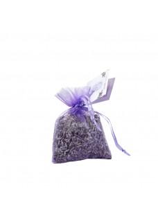 Lavendelblüten im Organzasäckchen Mini