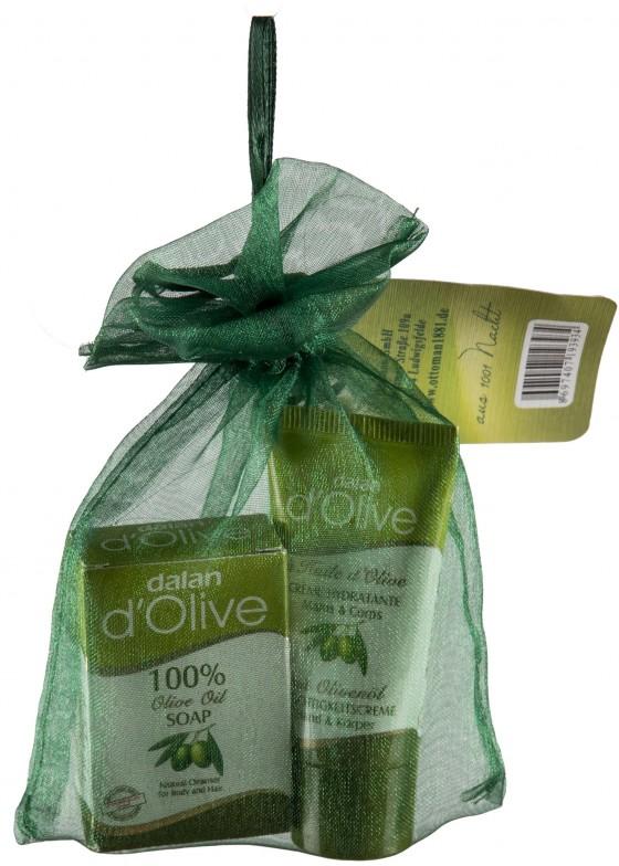 Dalan d'Olive 2er Mini-Set im Organzabeutel